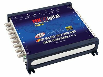 MK Digital MS 9-16 Multischalter Verteiler 9/16 Sat Multiswitch