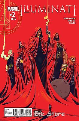 Illuminati #2 (2015) 1St Printing Bagged & Boarded