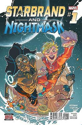 Starbrand And Nightmask #1 (2015) 1St Printing  Bagged & Boarded