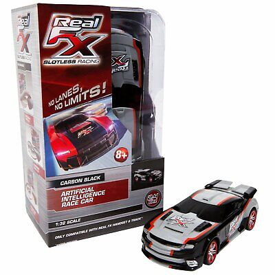 Real FX Slotless Racing 1/32 Carbon Black, Extreme Car FXR1006