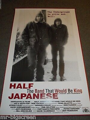 Half Japanese: The Band That Would Be King- Original Rolled Ss Poster - 1993
