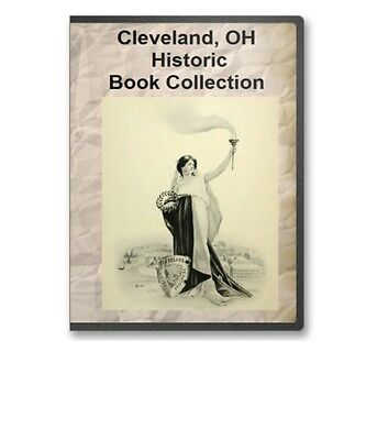 Cleveland, OH Ohio History Culture Family Tree Genealogy 22 Book Set - D33