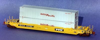 N Scale Wiseman Model Services Nsn-Rc02 Gunderson Husky Stack Well Car Kit