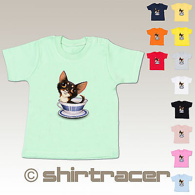 BZ02 Baby Shirt - Tiermotive Baby - Teacup Chihuahua