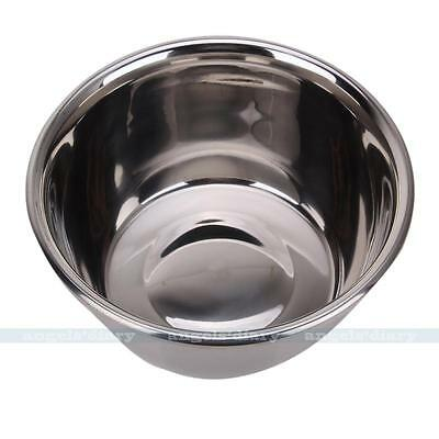 Stainless Steel Mixing Bowl Mirror Finish Kitchen Prep & Storage Kitchen Tool