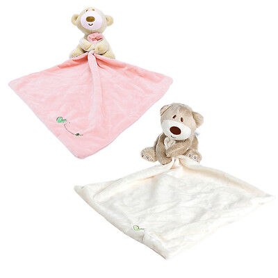 Teddy Bear Baby Kids Comforter Plush Stuffed Washable Blanket Soft Smooth Toy