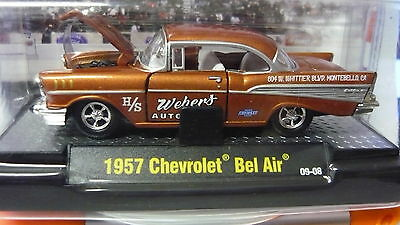 1957 Chevrolet Drags    1:64 Scale M2 Diecast