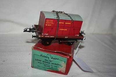o gauge hornby WAGON with furniture container in box looks good k31211