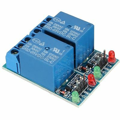2pcs one Channel 5V Relay Module & LED For Arduino Raspberry Pi ARM AVR DSP PIC