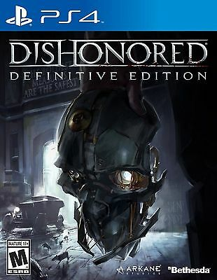 DISHONORED: Definitive Edition - PS4 ** BRAND NEW / SEALED / U.S. Version **