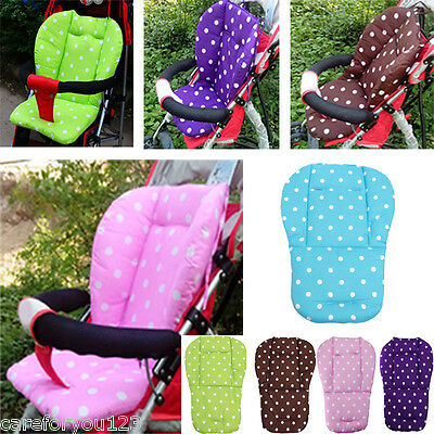 Baby Kids Infant Pushchair Stroller Seat Padding Pram Liner Pad Cushion Mat Soft