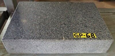 "12"" x 18"" x 4"" Granite Plate Charcoal Grade A"