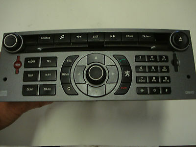 Peugeot 407 Sw Executive Radio/cd Unit
