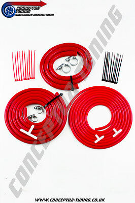 Silicone Hose Engine Bay Dressup Kit Red- For S14 200SX Zenki SR20DET
