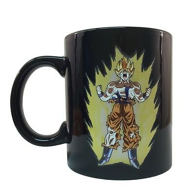 Dragon Ball Z Goku Super Saiyan Goku Heat Reactive Mug DBZ Licensed Coffee Mug