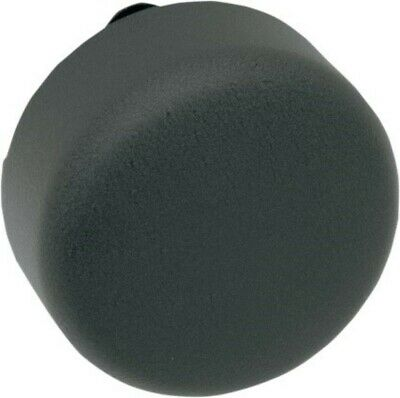 Wrinkle Black Round Horn Cover for Harley Softail Dyna XL