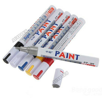 Waterproof Permanent Paint Marker Pen For Car Tyre Tire Tread Rubber Metal new