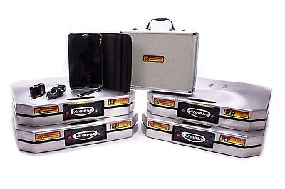 Longacre Racing 52-72715 Wireless Digital XLI Scales with Tablet Set of 4
