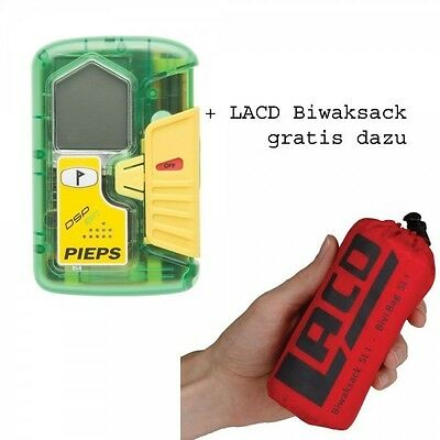 Pieps DSP Sports Avalanche rescue beacon + Free Bivibag