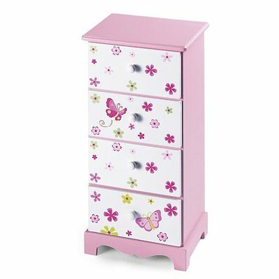 BABY-WALZ Commode chambres d'enfant NEUF rose