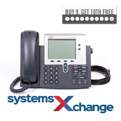 Cisco 7940 SIP Firmware VoIP Phone **12 Month Warranty** Grade A FREE Delivery