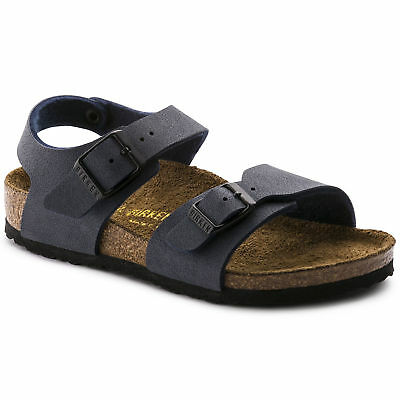 NS 111813 BIRKENSTOCK New York Sandalo Junior Navy 33