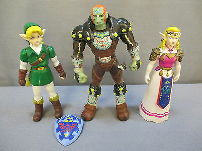 The Legend of Zelda Ocarina of Time 3-Pack: ZELDA, LINK & GANON 1998 Nintendo