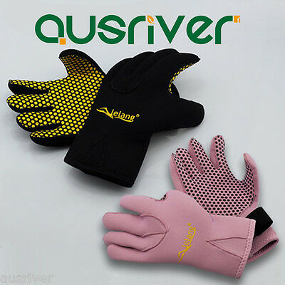 Pair Scuba Diving Neoprene Snorkel Palm Surfing Water Sports Gloves