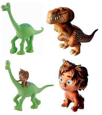 Official Bullyland Disney The Good Dinosaur Figures Toys Cake Topper Toppers