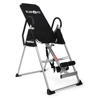 Nuovissima Klarfit Relax Zone Basic Panca A Inversione Hang-Up Schiena/crunches!