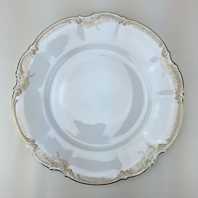 Lorenz Hutschenreuther Sienna Germany Wallace Dinner Plate China Gold White