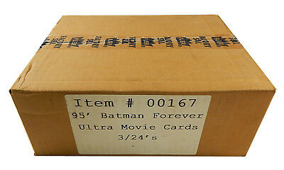 1995 Fleer Ultra Batman Forever Case - 3 Boxes