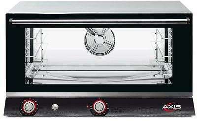 Axis AX-813RH Commercial Full-Size Electric Convection Oven (3-Shelf, Humidity)