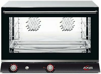 Axis AX-824RH Commercial Full-Size Electric Convection Oven (2 Reversible Fans)
