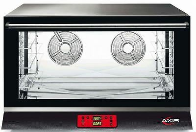 Axis AX-824RHD Commercial Full-Size Electric Convection Oven MADE IN ITALY! NEW!