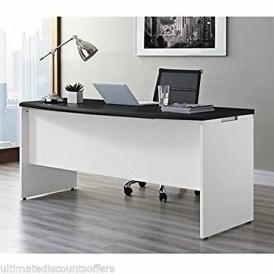 Executive Office Furniture Computer Desk Business Modern Large Wood Home Office