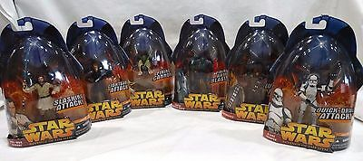 2005 Hasbro Star Wars Revenge Of The Sith Complete 1-12 Set
