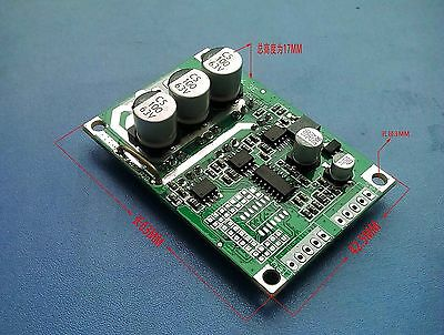 DC Brushless Hall Motor Controller Balanced Car Driver Board Enable Control Q4H2