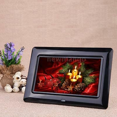 """7"""" Full HD TFT-LCD Digital Photo Frame + Clock Movie Player With Contorl Remote"""