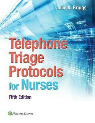 Telephone Triage Protocols for Nurses by Julie Briggs Paperback Book (English)