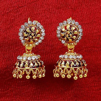 Ethnic Indian Bollywood Jhumka Earring Set Women Traditional Jewelry BSE5472A