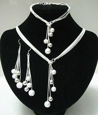 sterling silver jewellery set Handmade New For 2016 Stunning