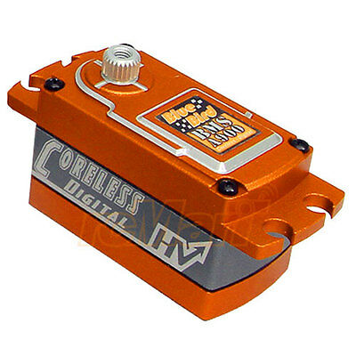 Blue Bird Aluminum Wide Voltage Digital Coreless Low Profile Servo Car #BMS-A900
