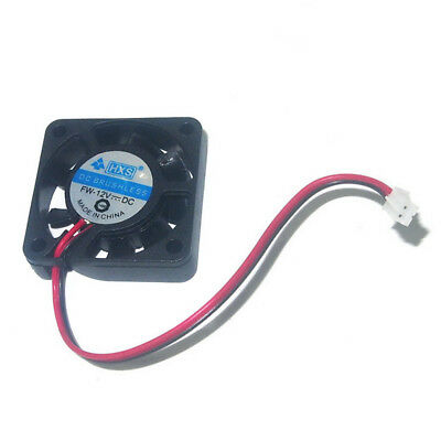 JDDA 40x40x10 mm 12V DC 0.08A 2-Pin Brushless Super Quiet PC Cooling Fan