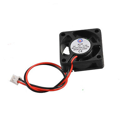 3010S 30x30x10 mm DC 12V 0.13A 2-Pin Brushless PC Cooling Fan