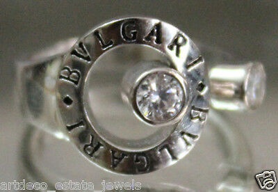 .925  Silver Round  CZ  Ring