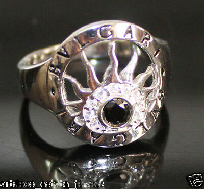 .925 Silver Round  CZ Engagement Ring