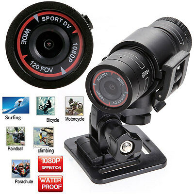 1080P Waterproof Full HD Sports Camera DV Mini Bike Helmet Action DVR Video Cam