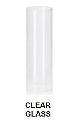"Glass Lamp Shade for Next ""Barcelona"" lights. White, Smoke or Clear Glass (tube)"