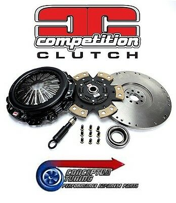 Legendary White Bunny Stage 4 Competition Clutch+ Flywheel For S14a 200SX SR20